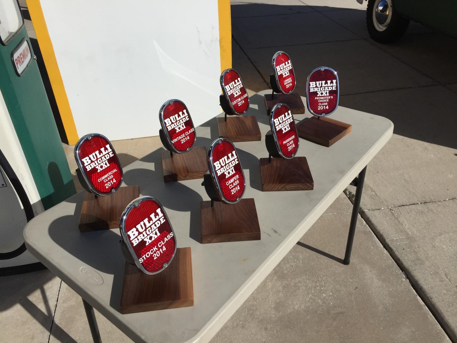 Bulli Brigade trophies