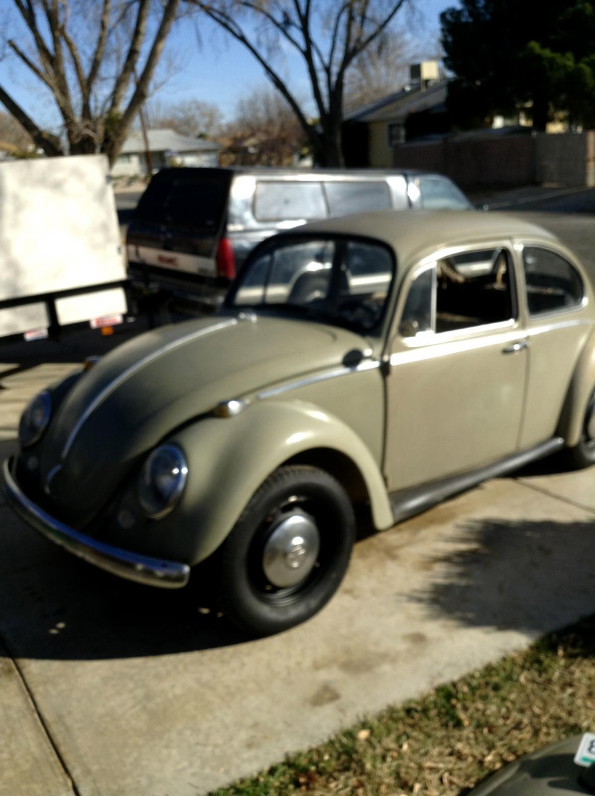 1966 Seasand Beige Bug
