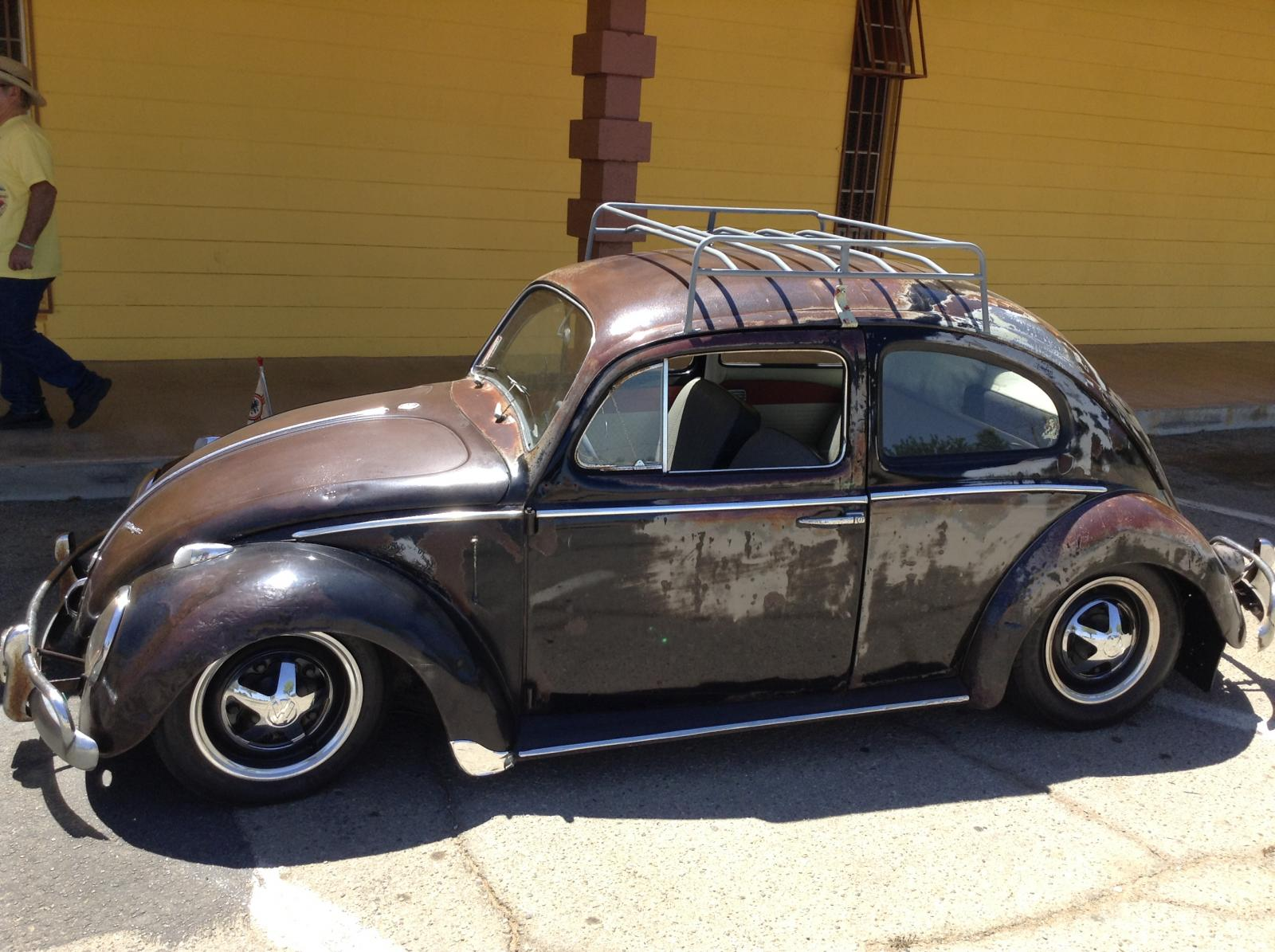 My 1960 Patina Black Bug