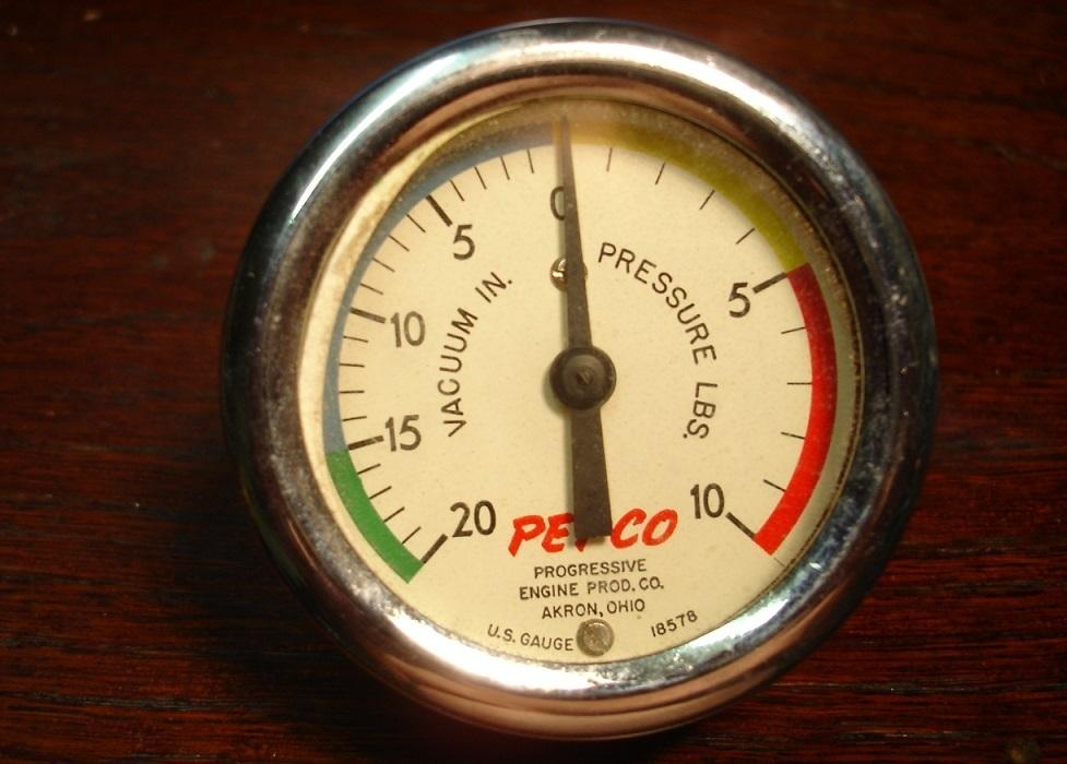 My nos Pepco supercharger boost gauge