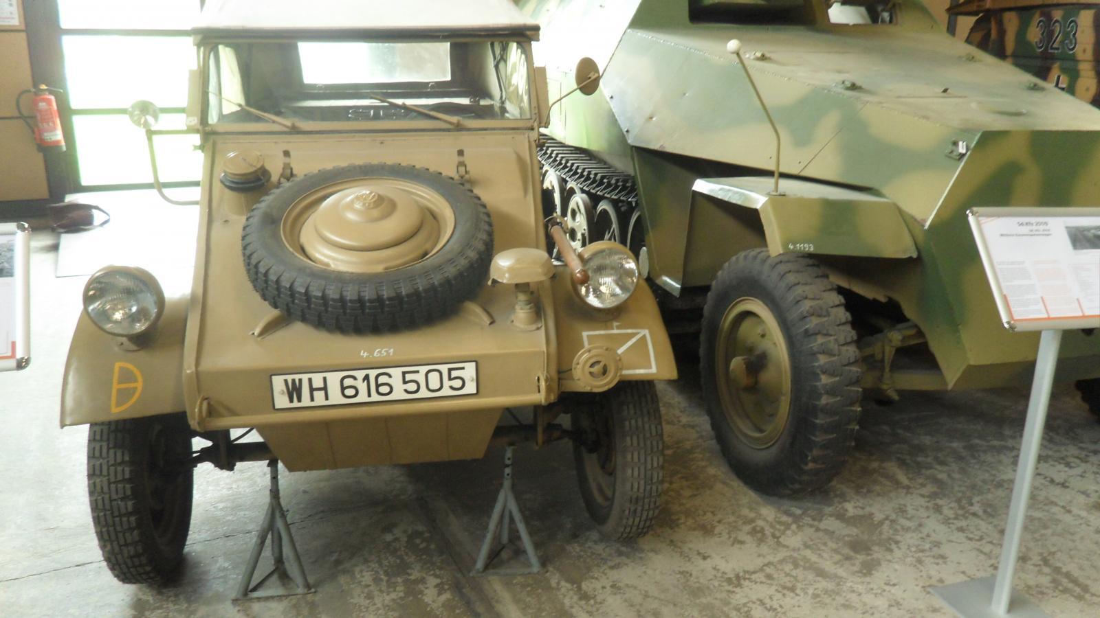 Kubel Wagen Deutsches Panzermuseum Munster