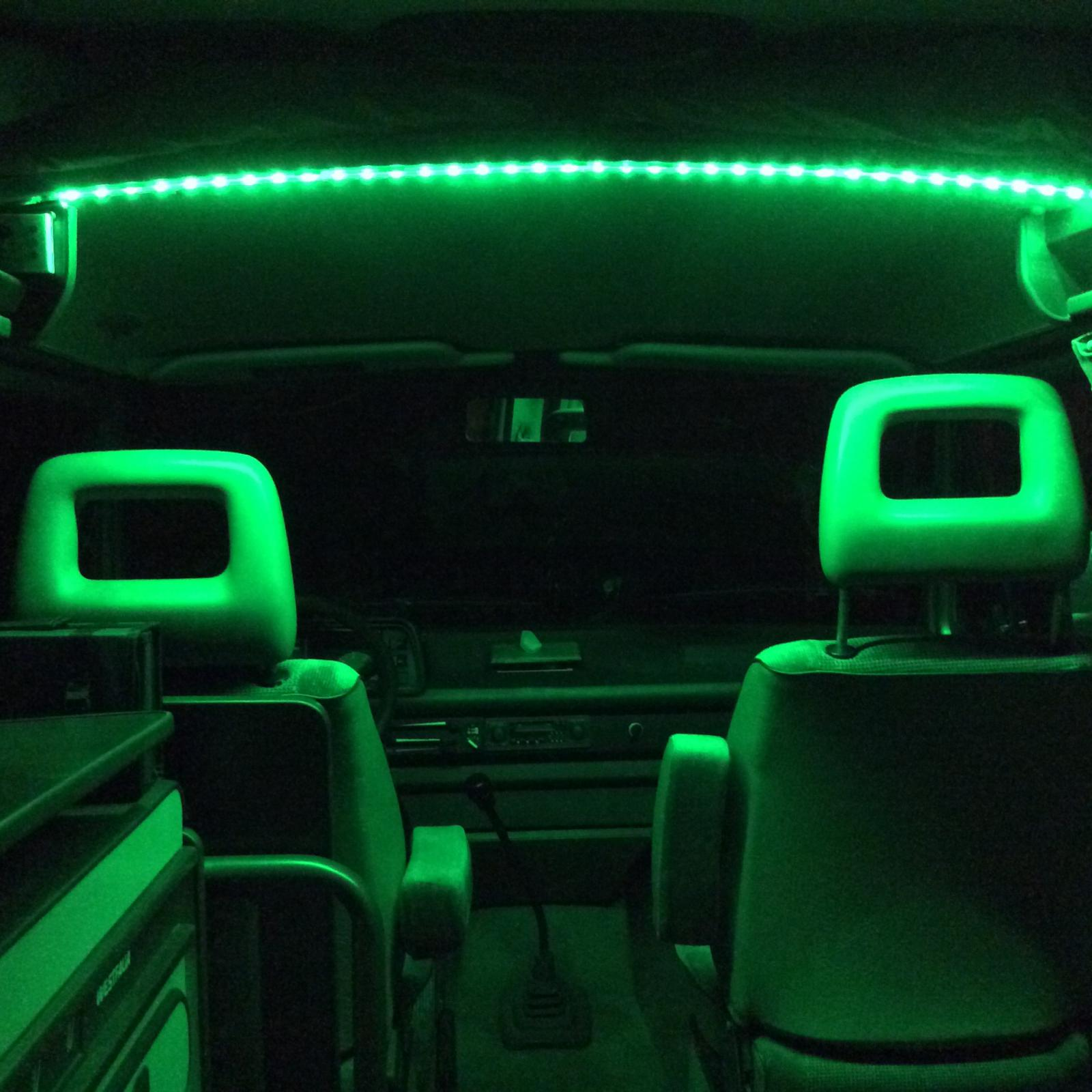 Vanagon View Topic Flexible Led Lights For Thesambacom Vert Dome Light Wiring Click Image To Fullscreen