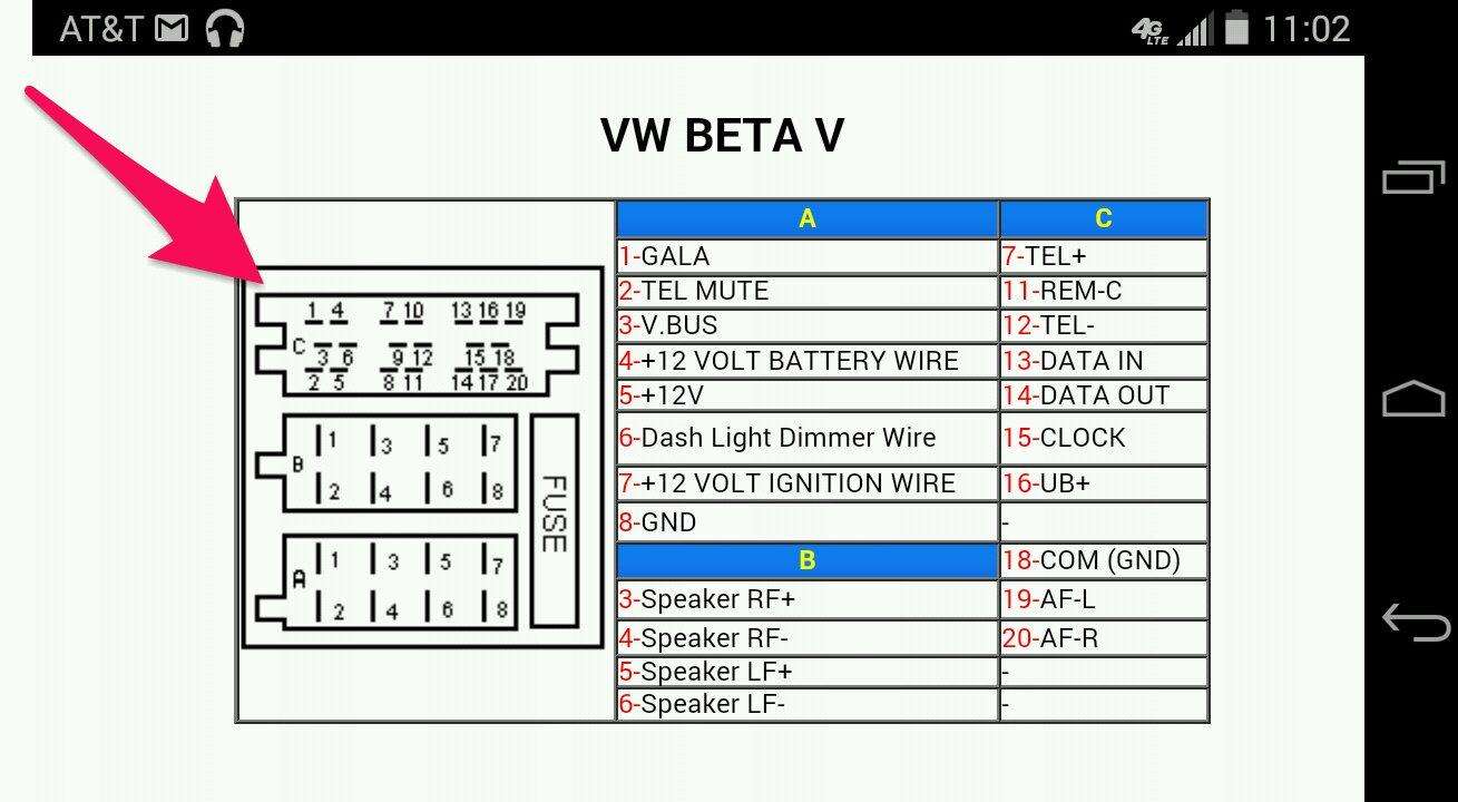Vw Golf 6 Radio Wiring Diagram