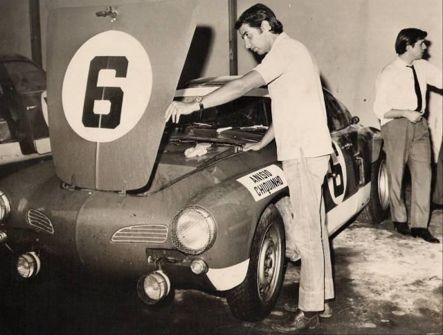 Racing vintage ghias