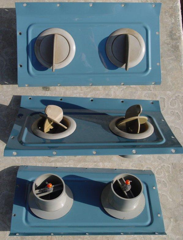 Aftermarket fresh air vents - Uni-Vents
