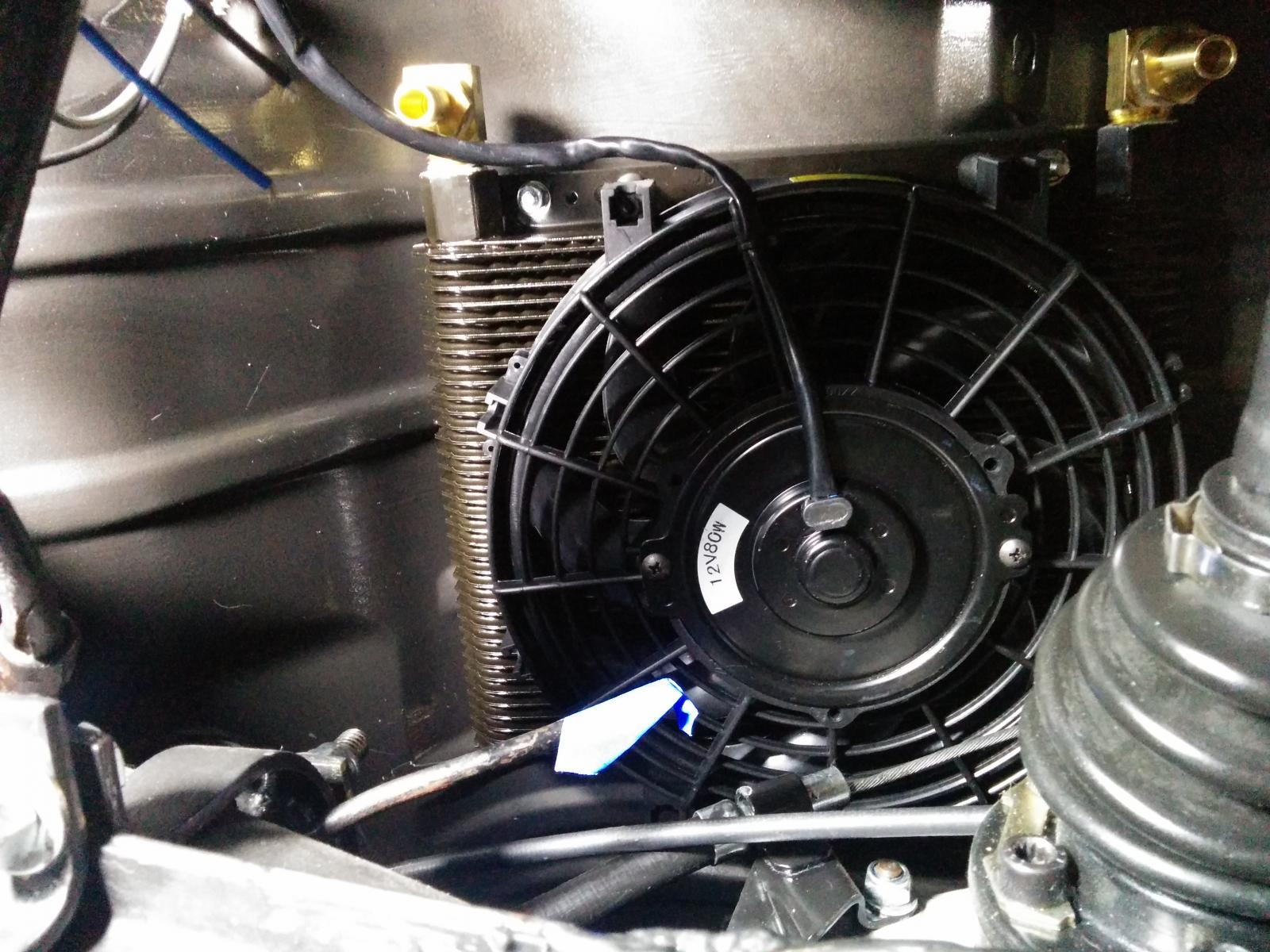 Vw Oil Cooler With Fan : Vw external oil cooler fan wiring pictures to pin on