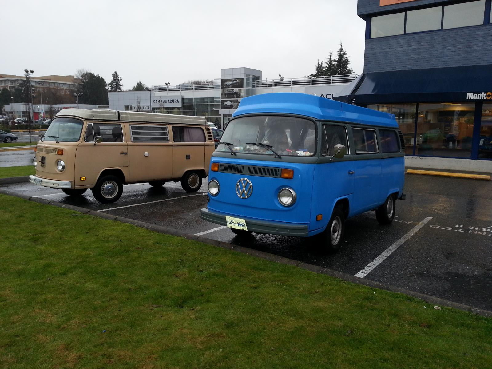 My old bus (blue)