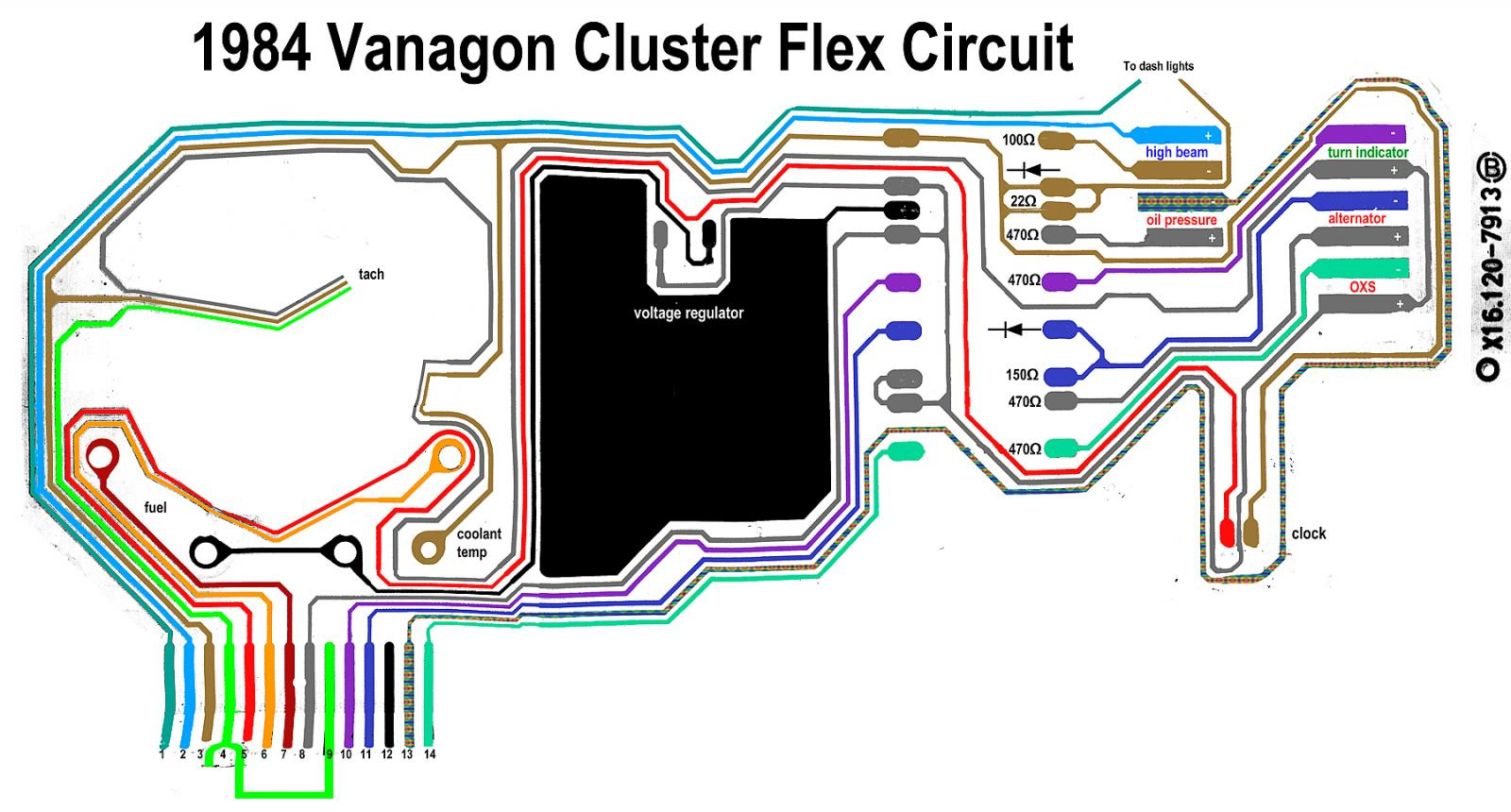 Vanagon Instrument Cluster Wiring Diagram Data 97 Jeep Thesamba Com View Topic Warning Leds Cherokee Image