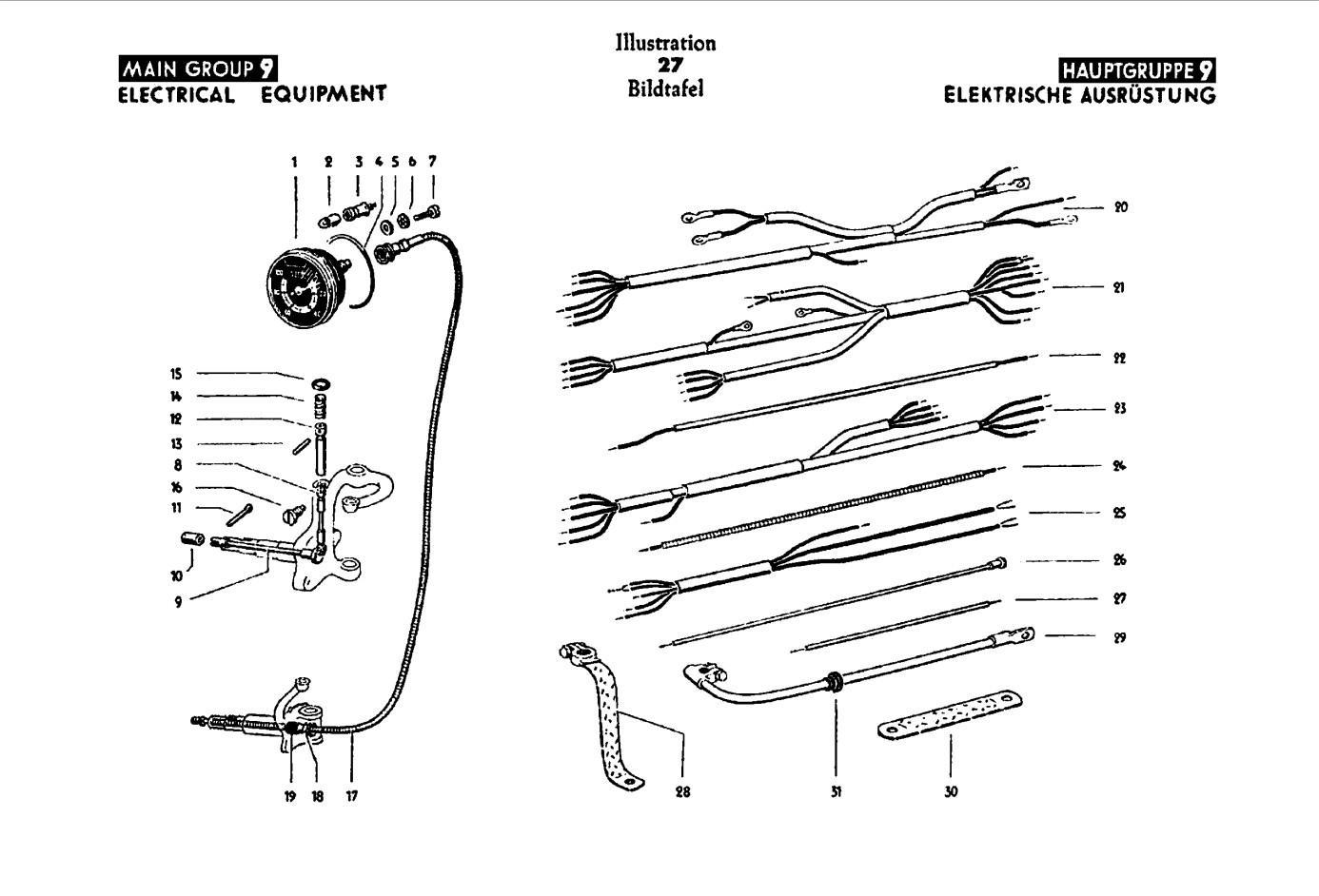 1946 Parts book Main Group 9 Illustration 27