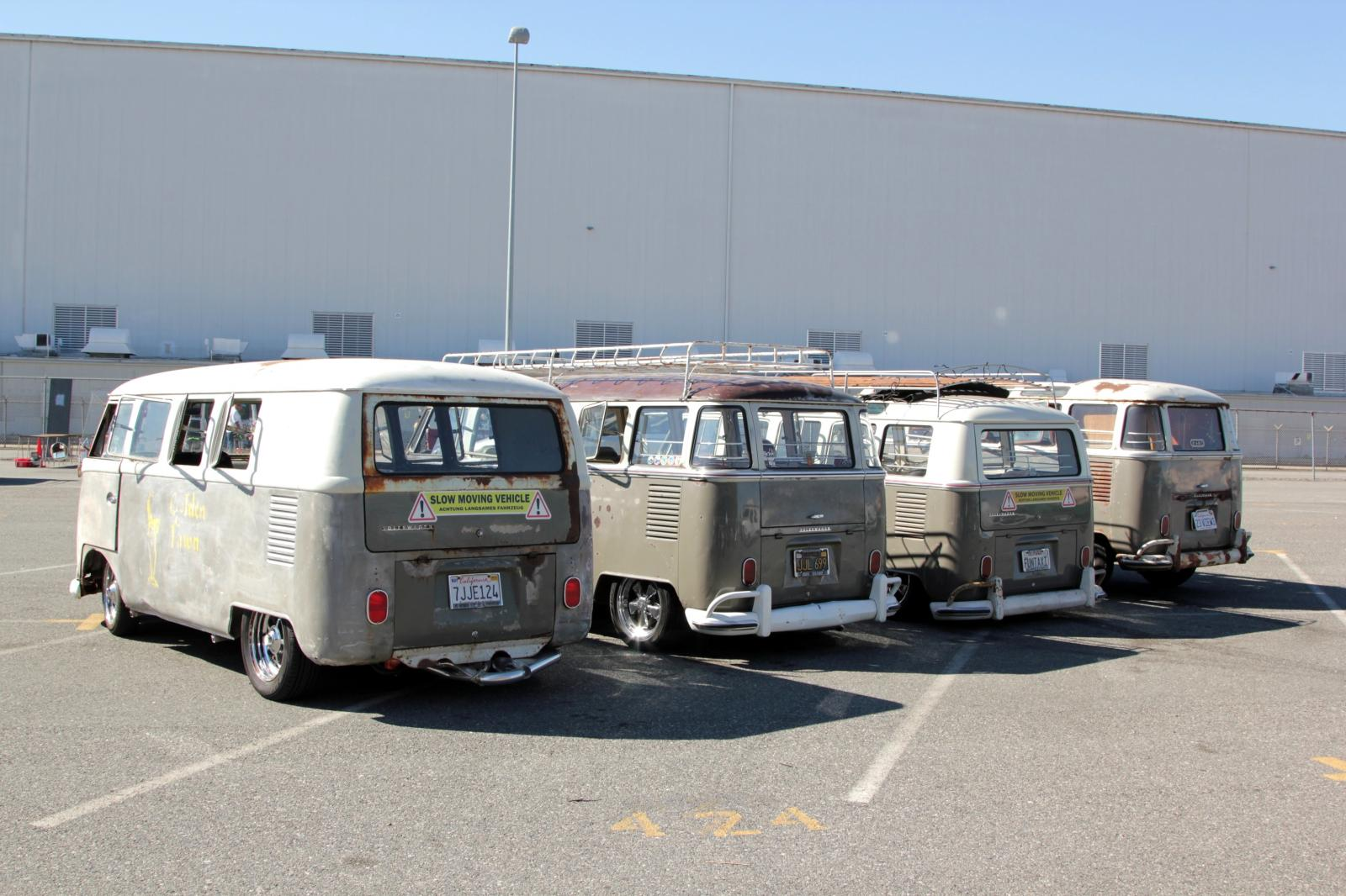 Mouse Grey buses at OCTO