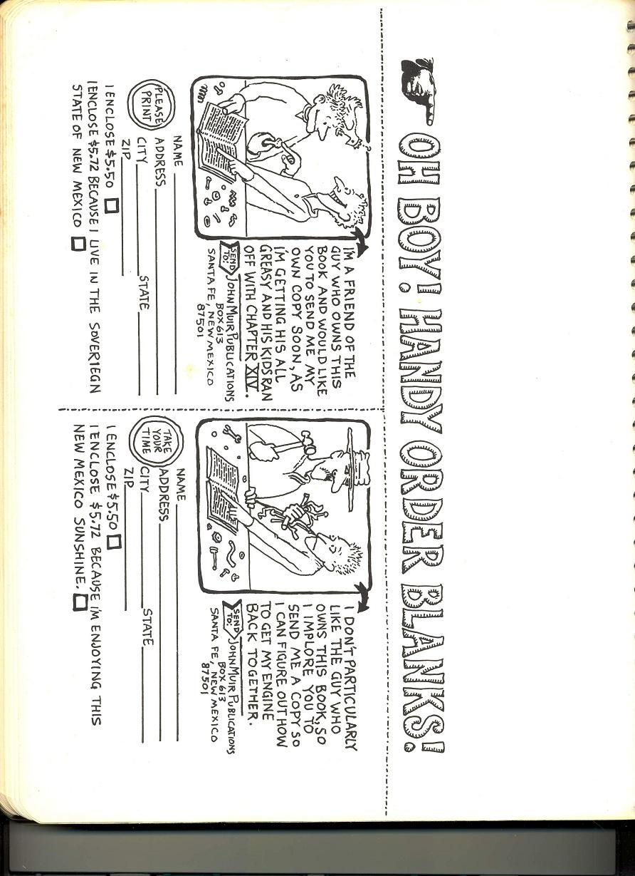 Pages from 1970 edition of the Idiot Book