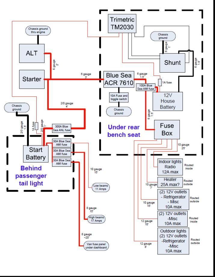 Thesamba Com Gallery Vanagon Battery Relocation Wiring Schematic