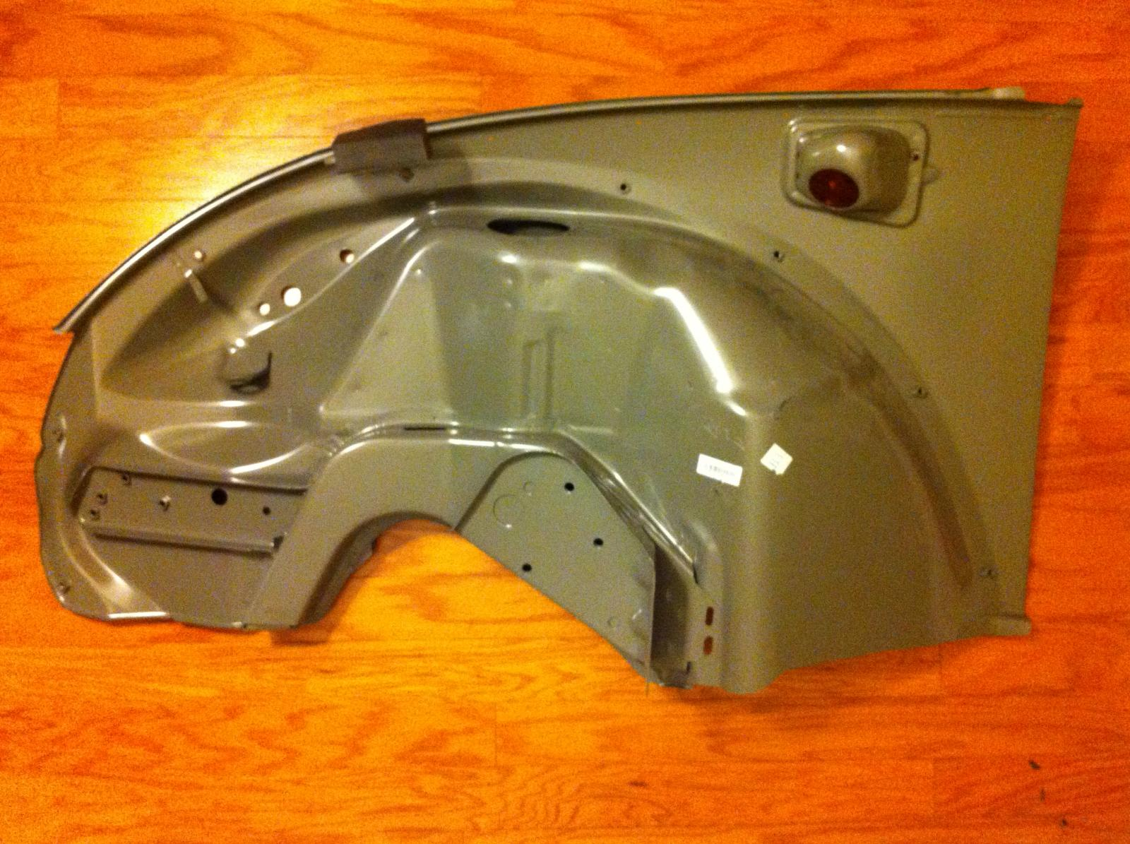 TheSamba.com :: Body/Paint - View topic - Report on 1973 Super Beetle Replacement Body Panels
