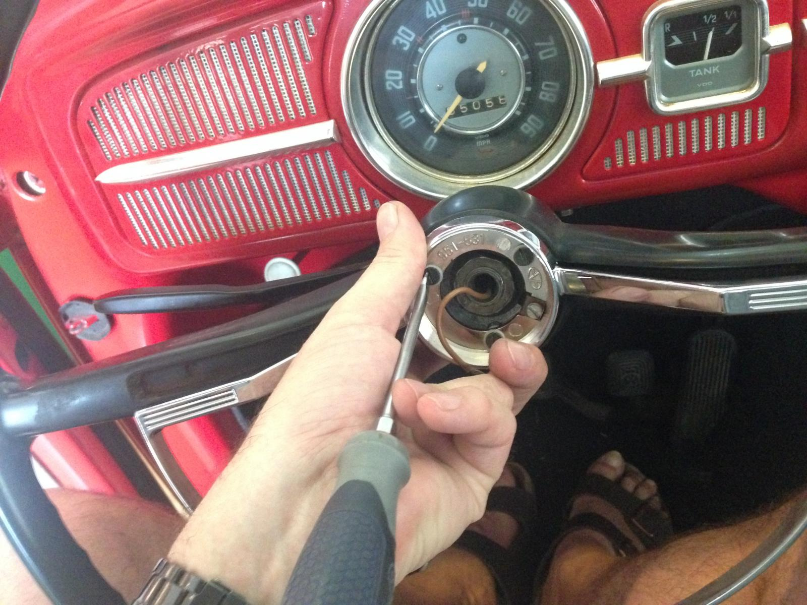 New Beetle Horn Location 1960 Vw Wiring