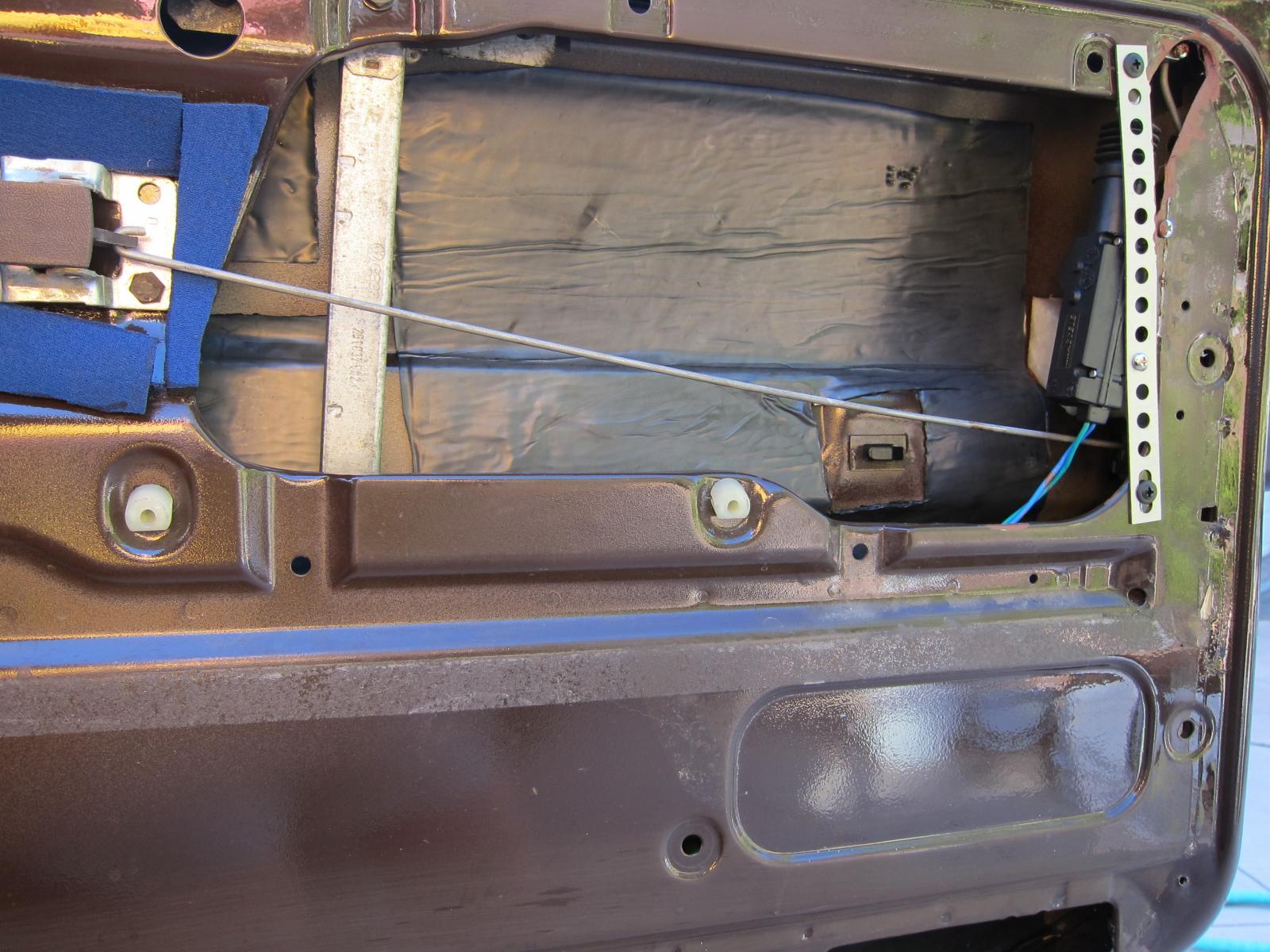 door power lock mounting
