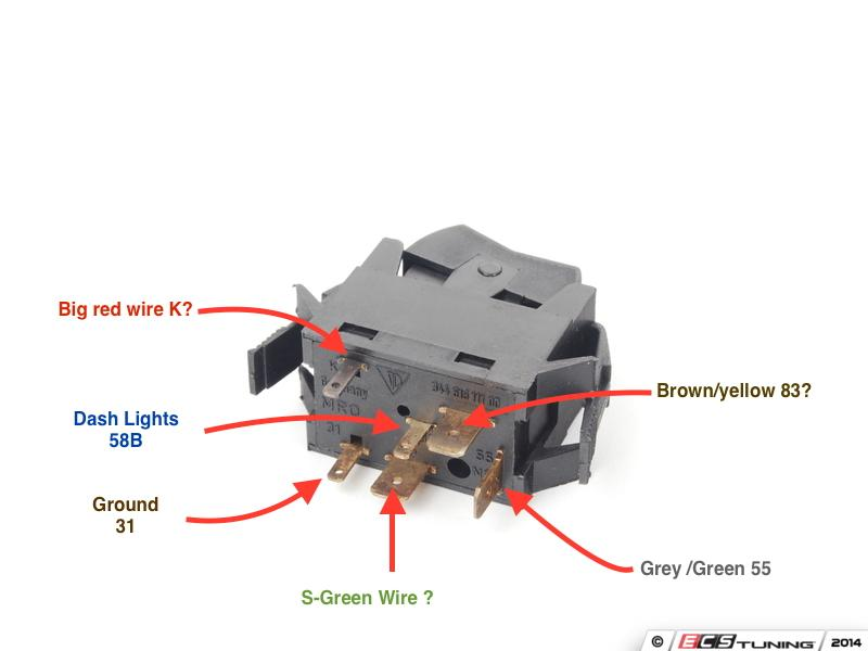 thesamba com vanagon view topic vw oem fog light switch wiring vanagon shifter diagram image may have been reduced in size click image to view fullscreen