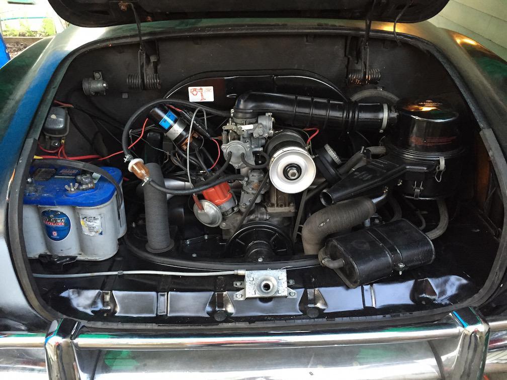 70 Ghia engine