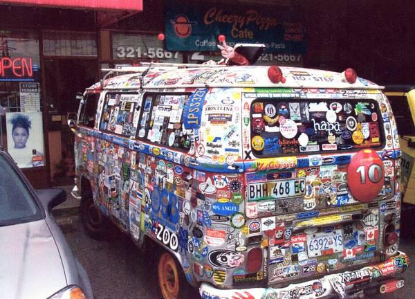 Stickerbus