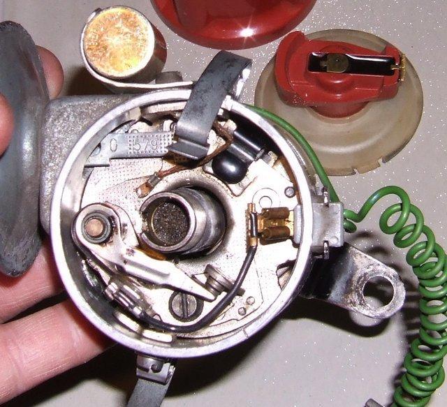 043905205 0231170034 Distributor breaker plate removal