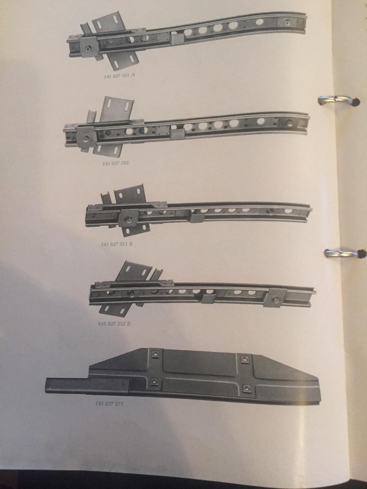lowlight door parts