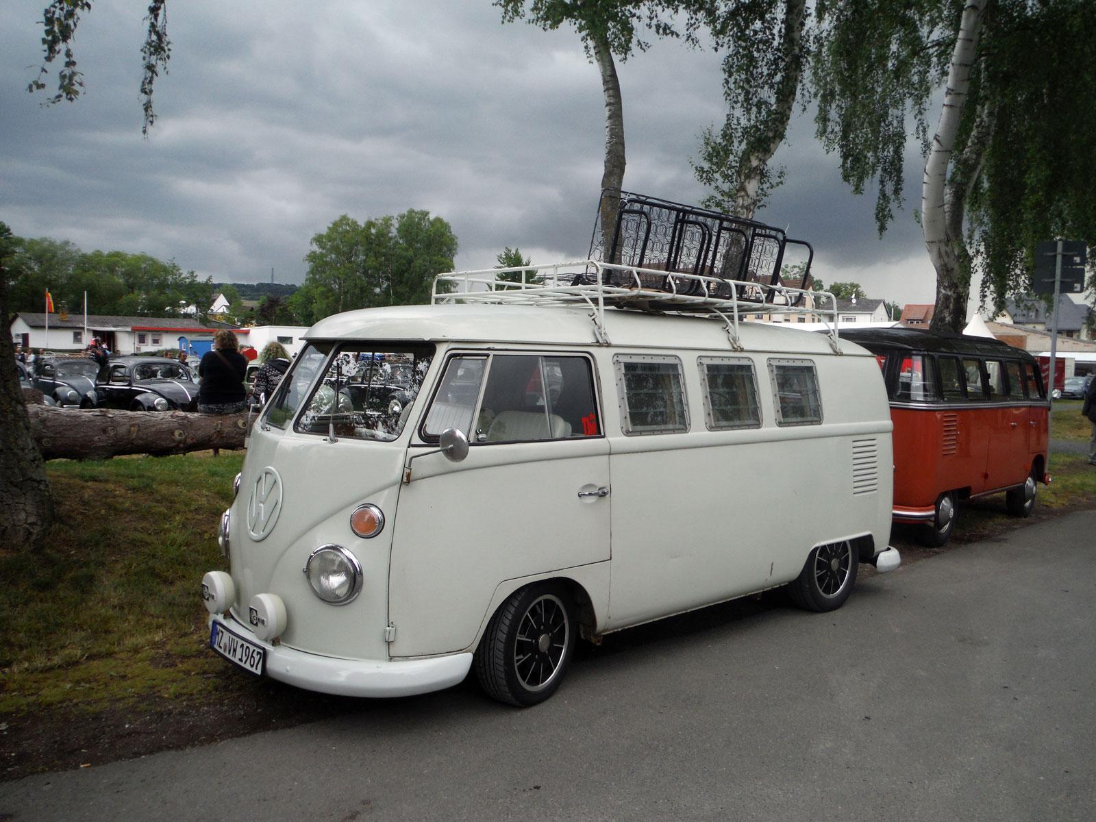 My bus at Bad Camberg 2015
