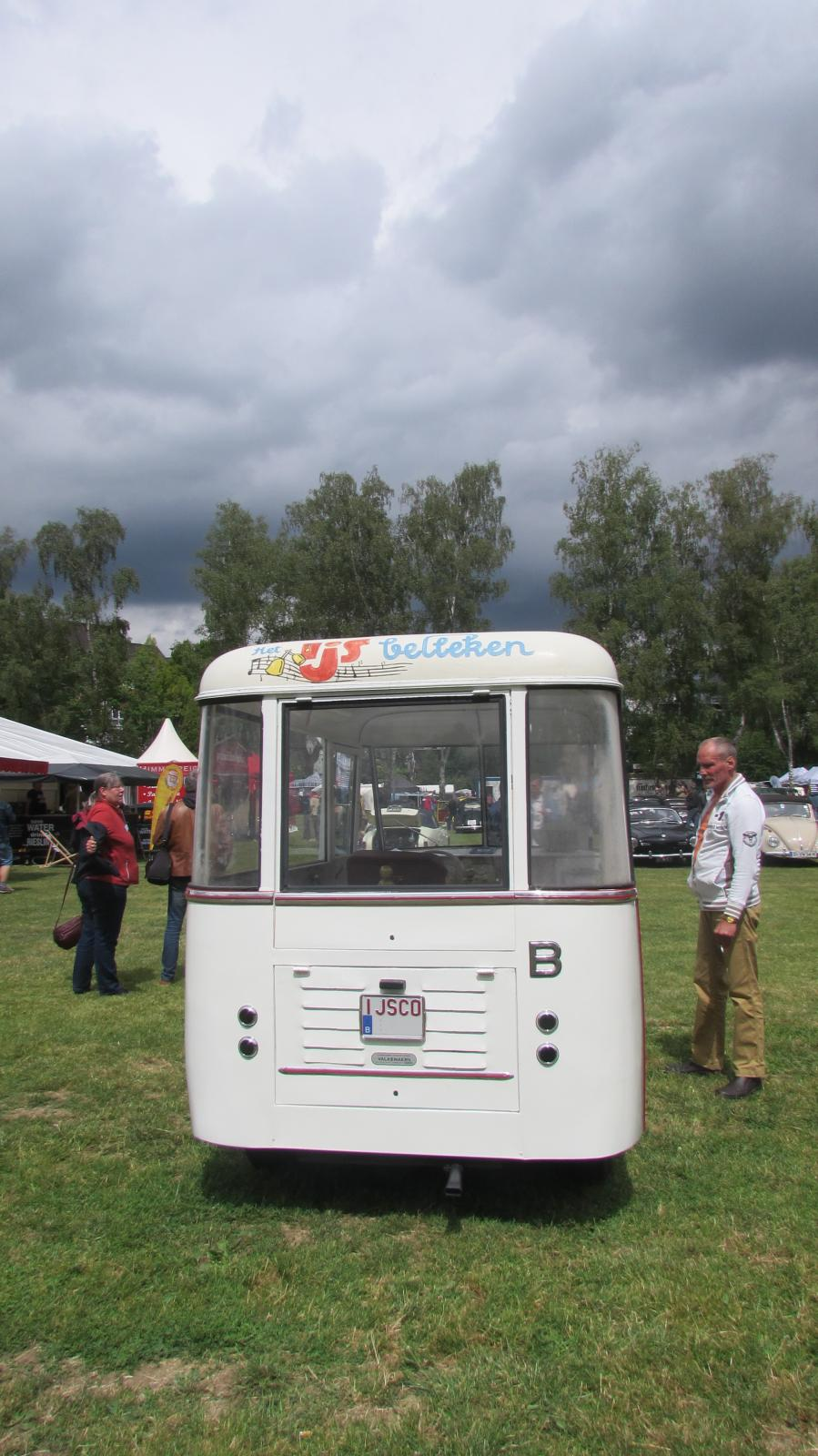 Coachbuilt Ice Cream Truck