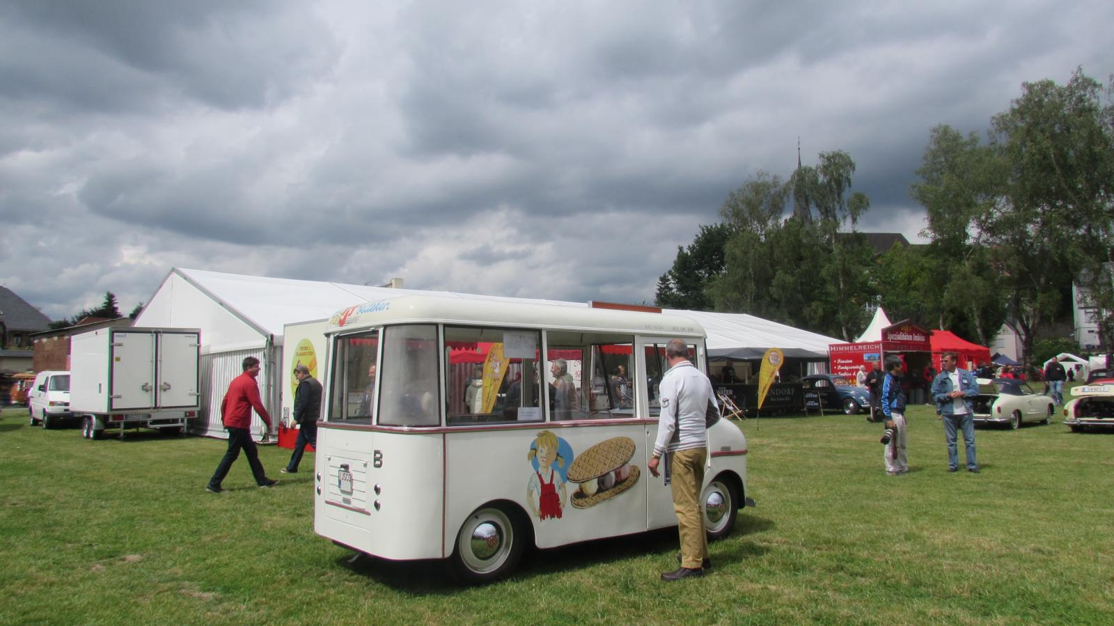 Coachbuilt Ice Cream Truck