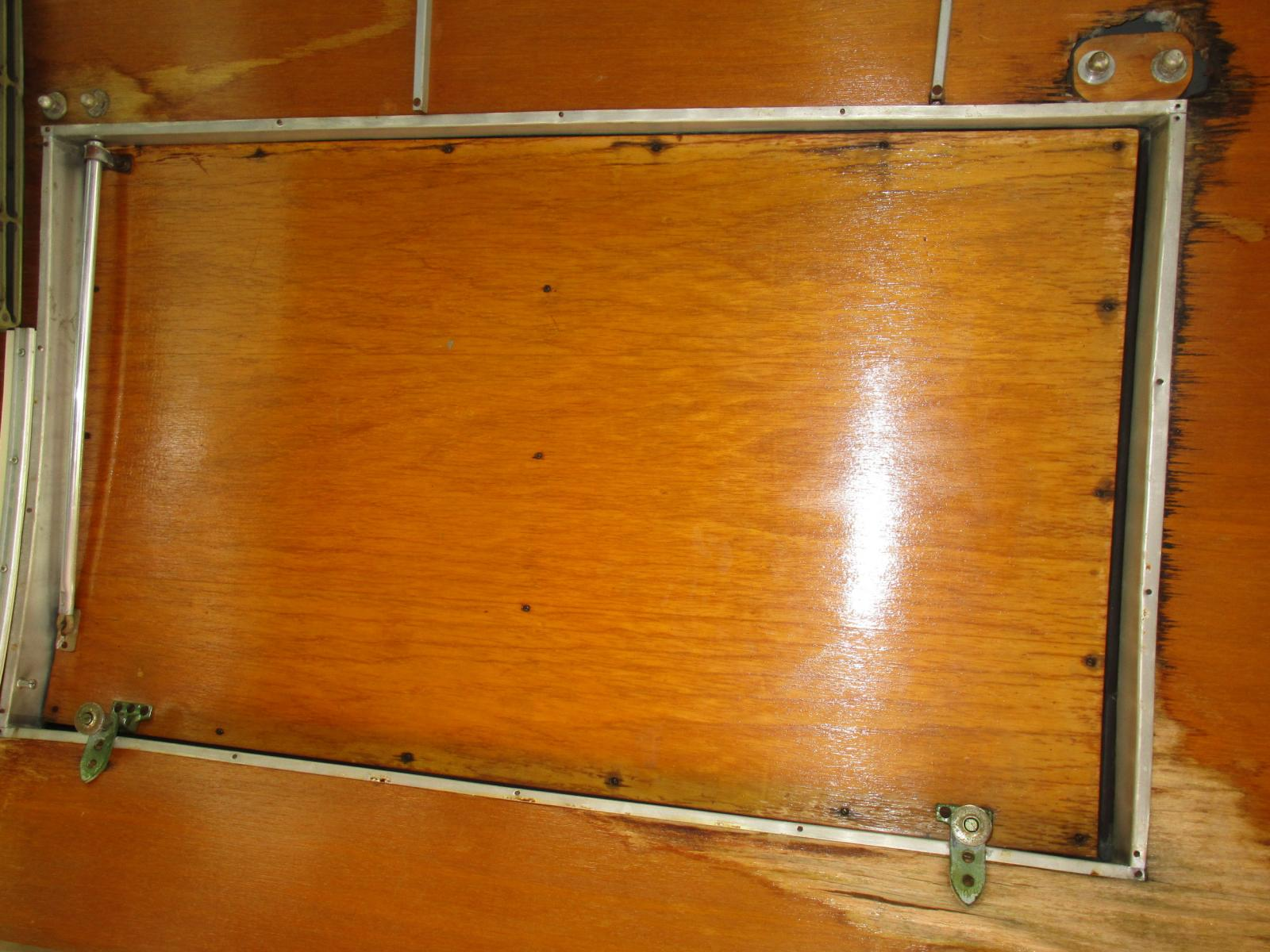 sub hatch wood panel