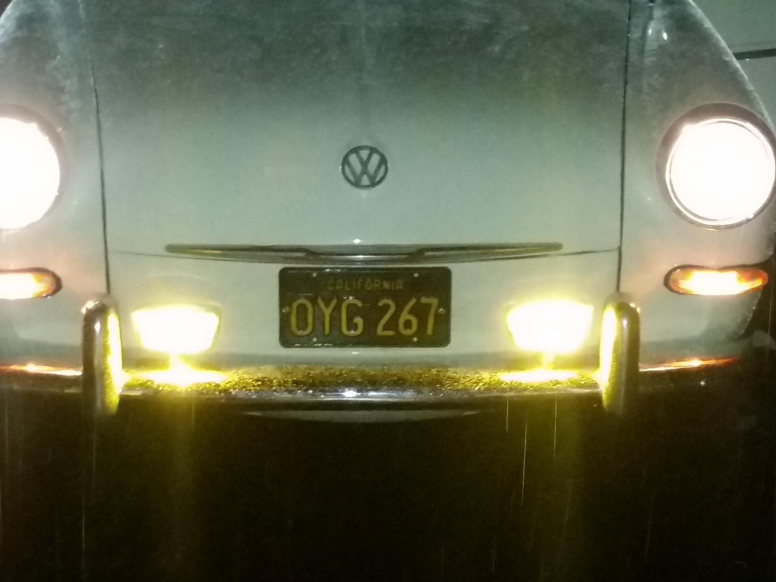 6v Bosch Hooded fog lights