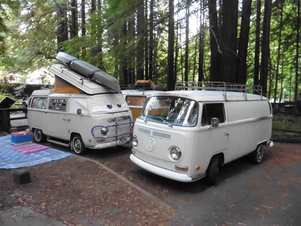 Treffen Camp out at Burlington Humboldt Redwoods