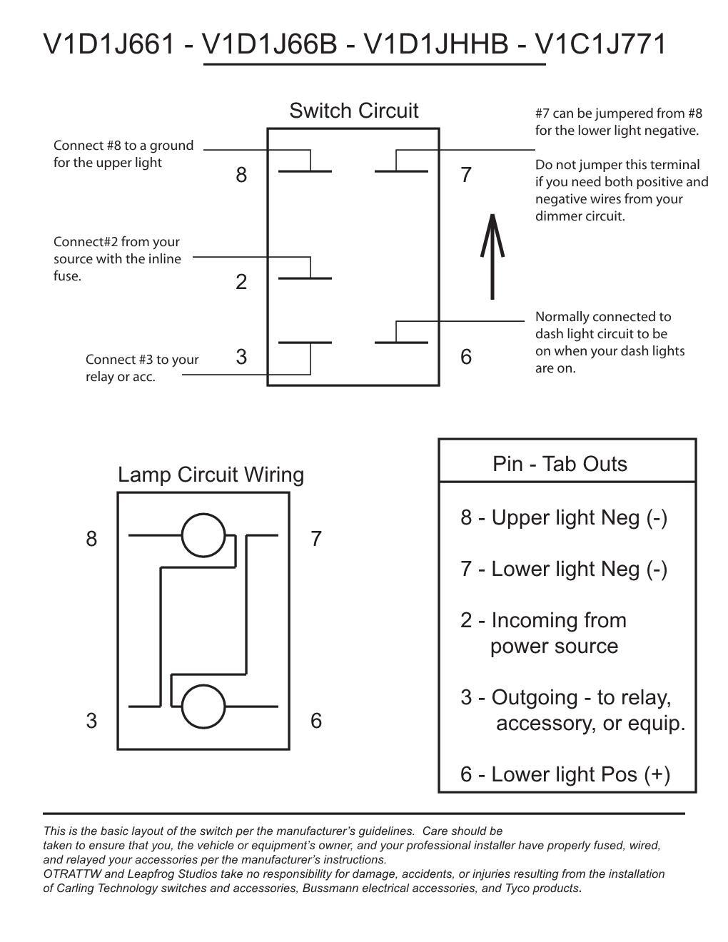 Otrattw Switch Wiring Diagram Library Wire Relay 3 Kragen 7 In Hid Lights Attn Diagrams Boat Rocker Image May Have Been Reduced Size Click To View Fullscreen