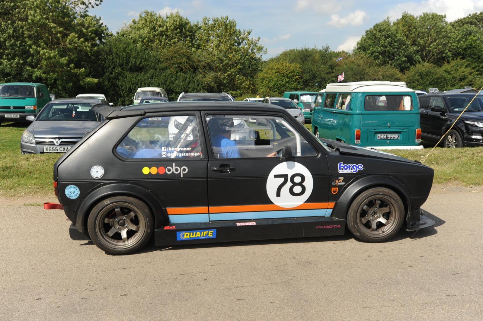 VW Action 2015 at Santa Pod Raceway UK