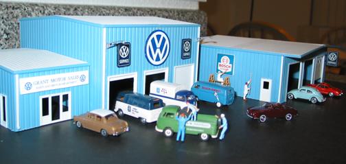 VW Diorama - Service Bays