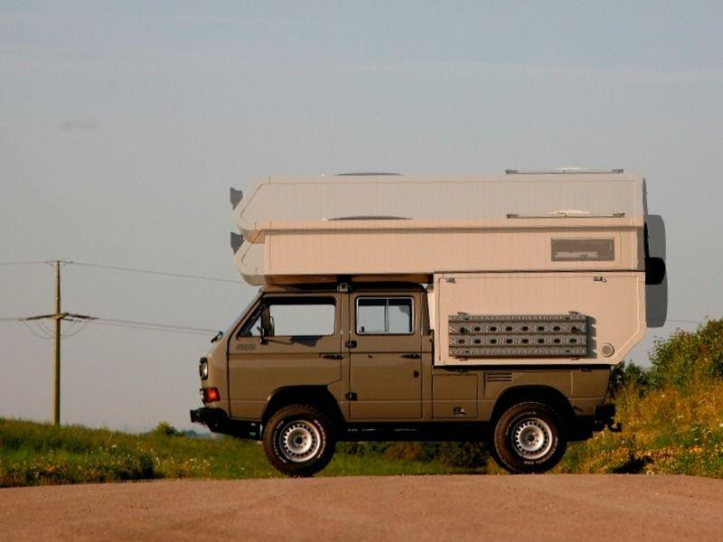 Doka Syncro TDI with Camper Top
