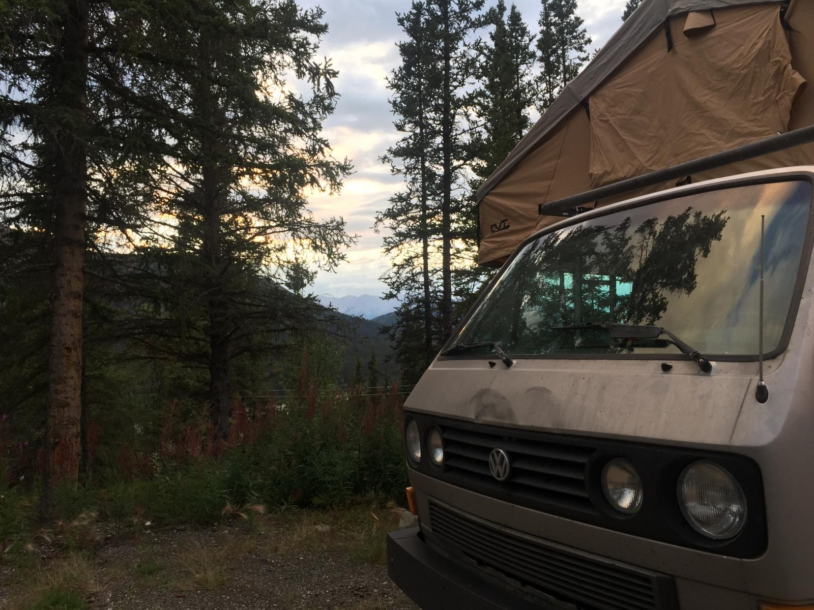 1986 Syncro with a Roof Top Tent