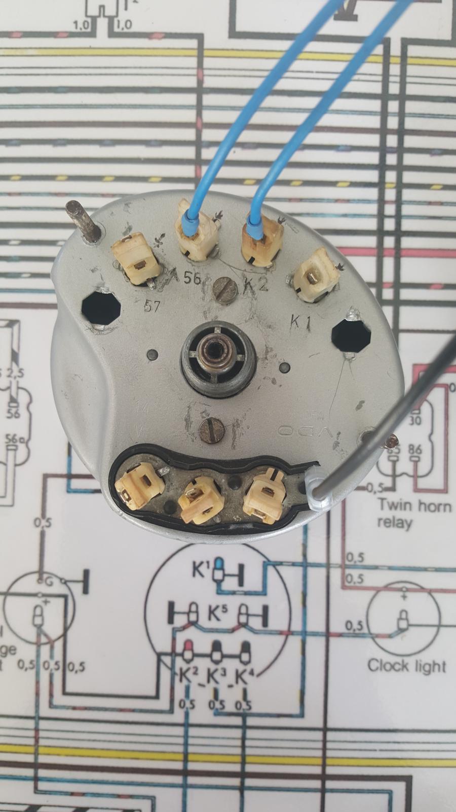 TheSamba.com :: Ghia - View topic - Speedometer Wiring