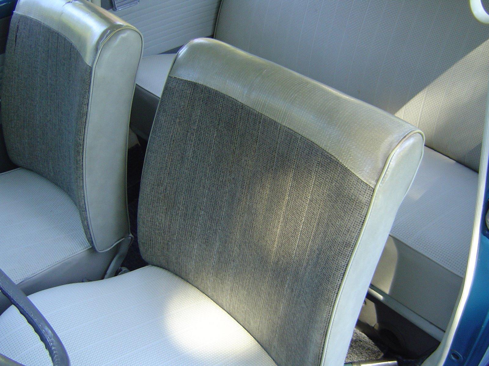 1965 Type 1 Original Seat - Mesh Grey #83