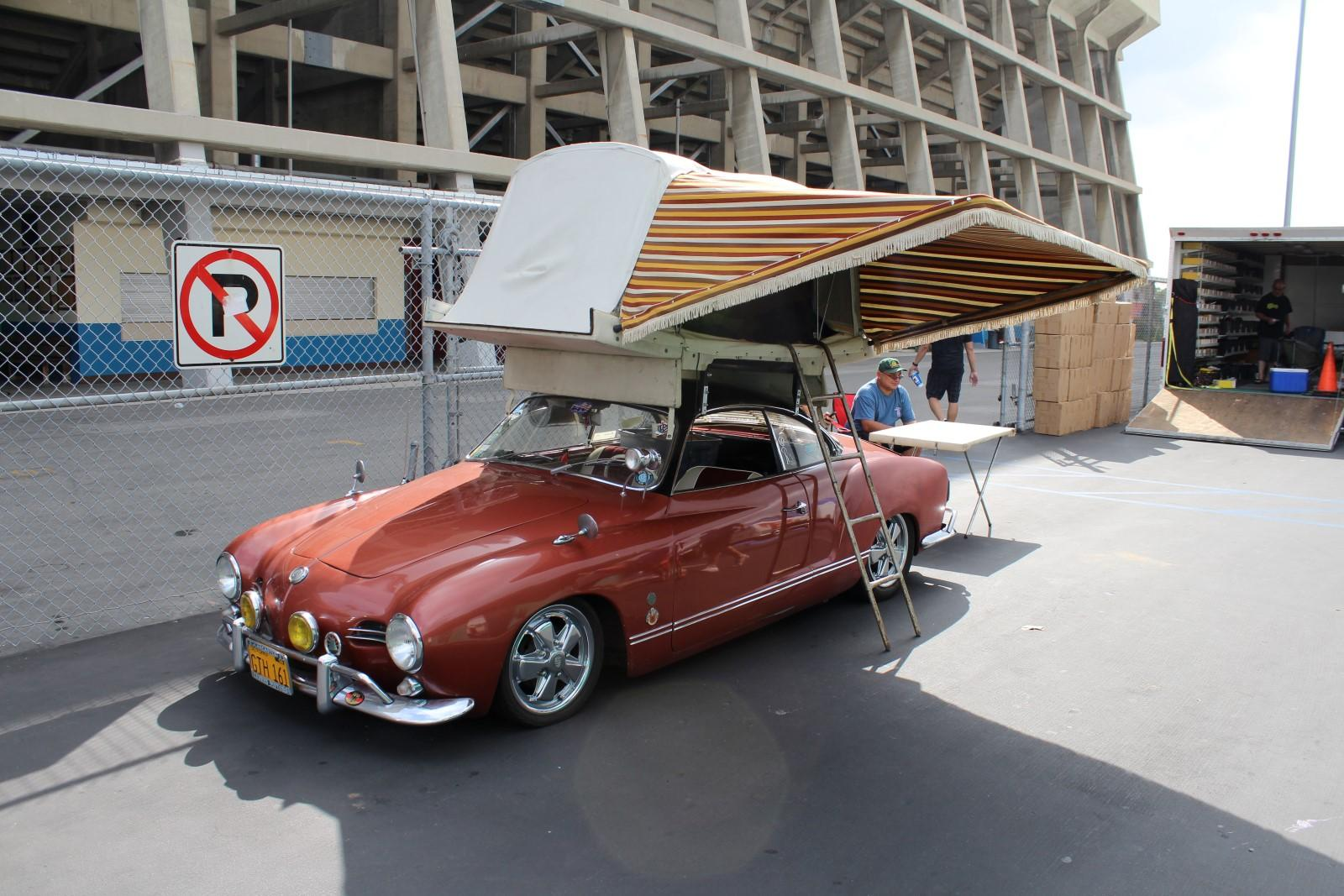 Ghia with roof tent