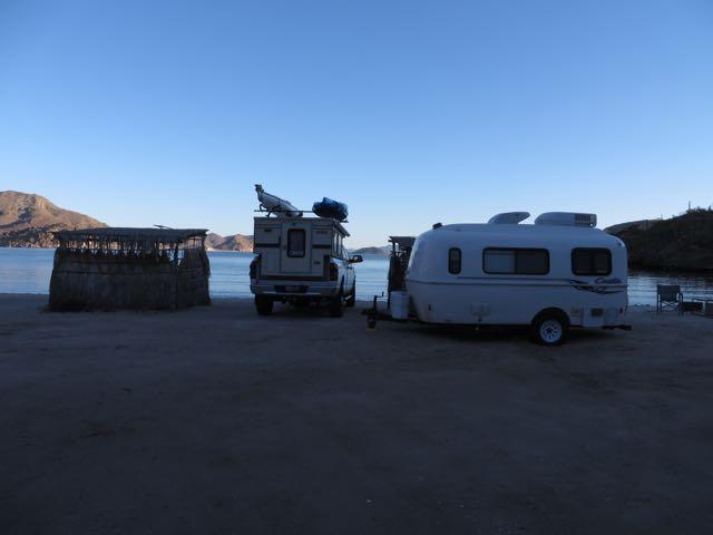 camper and trailer