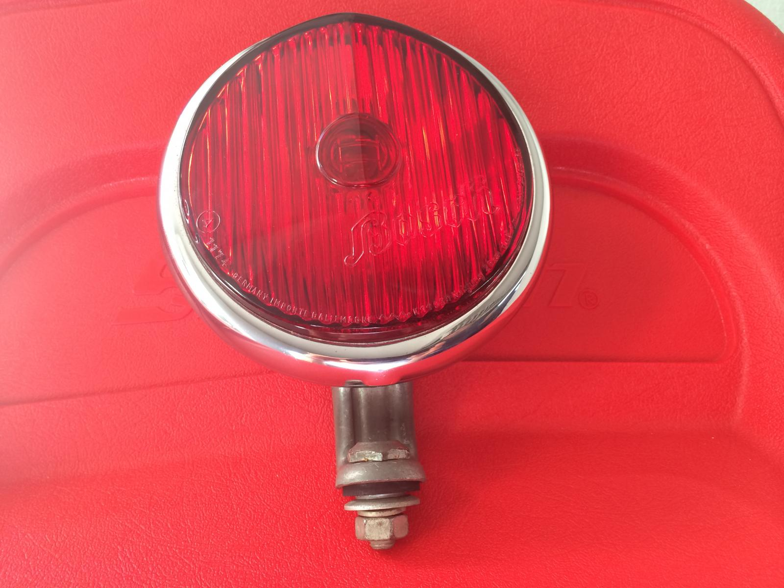 NOS Ultra rare Red Bosch Brake light