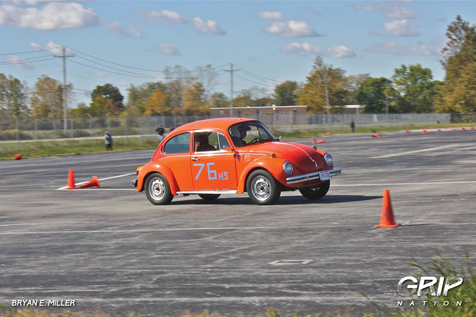 how to autocross a vw bug