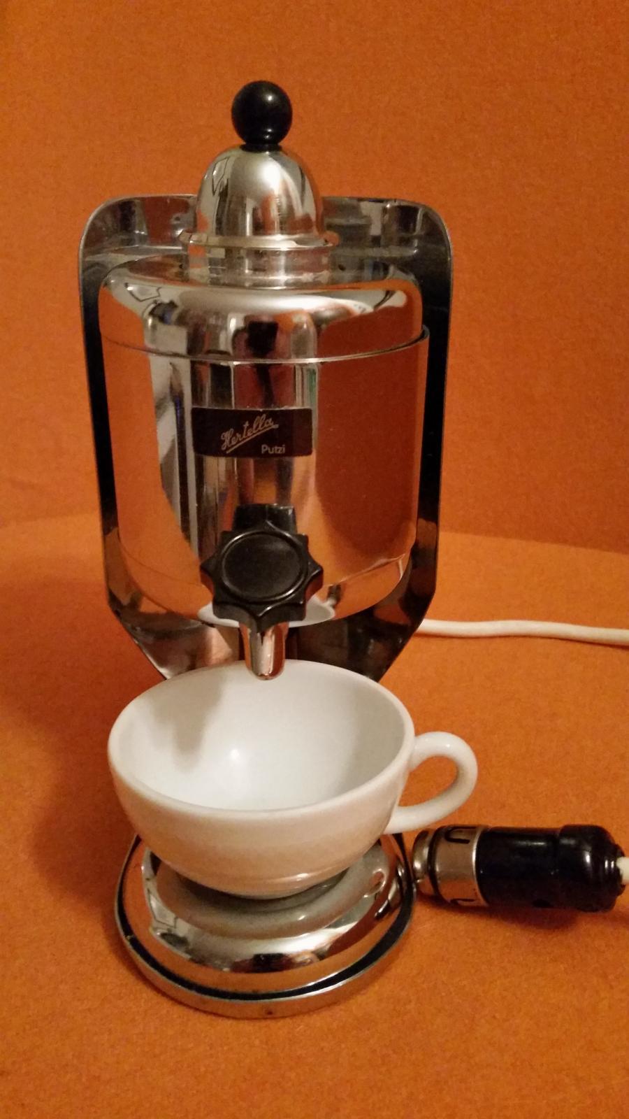 """My 6 volt Hertella coffee maker  """"kaffeemaschine"""""""