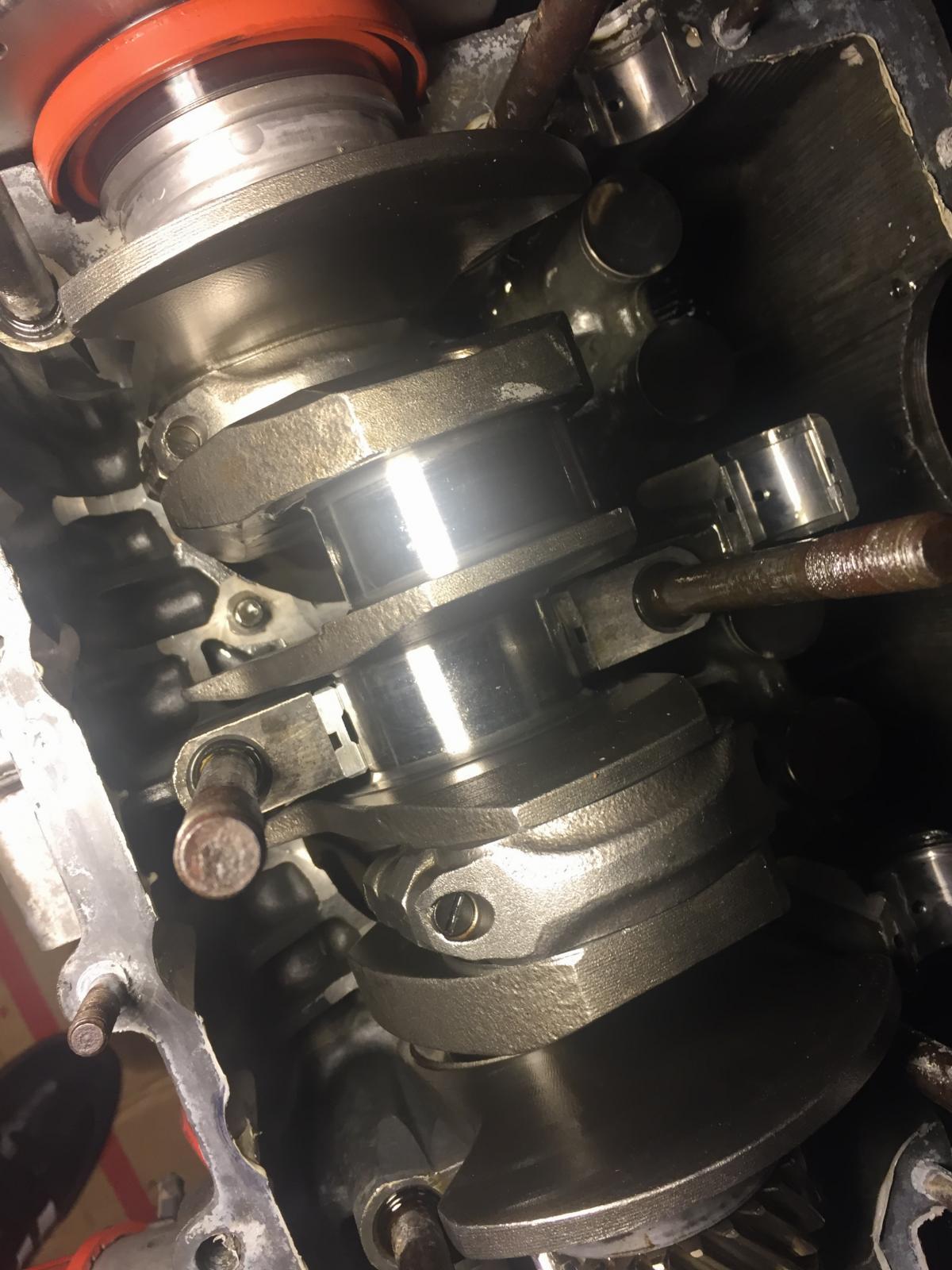 engine teardown.