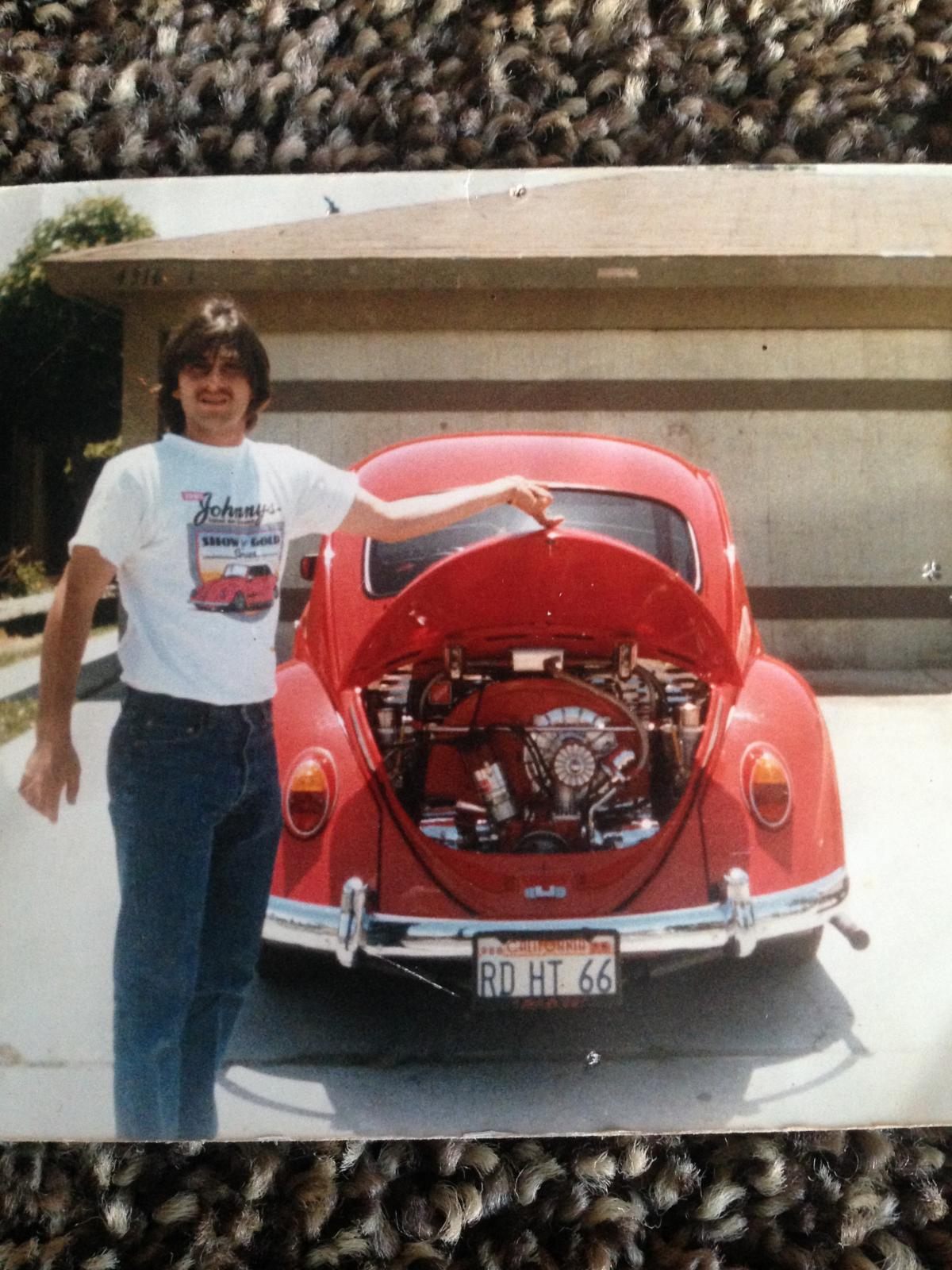 Me in the 80s with my red hot 66 :)