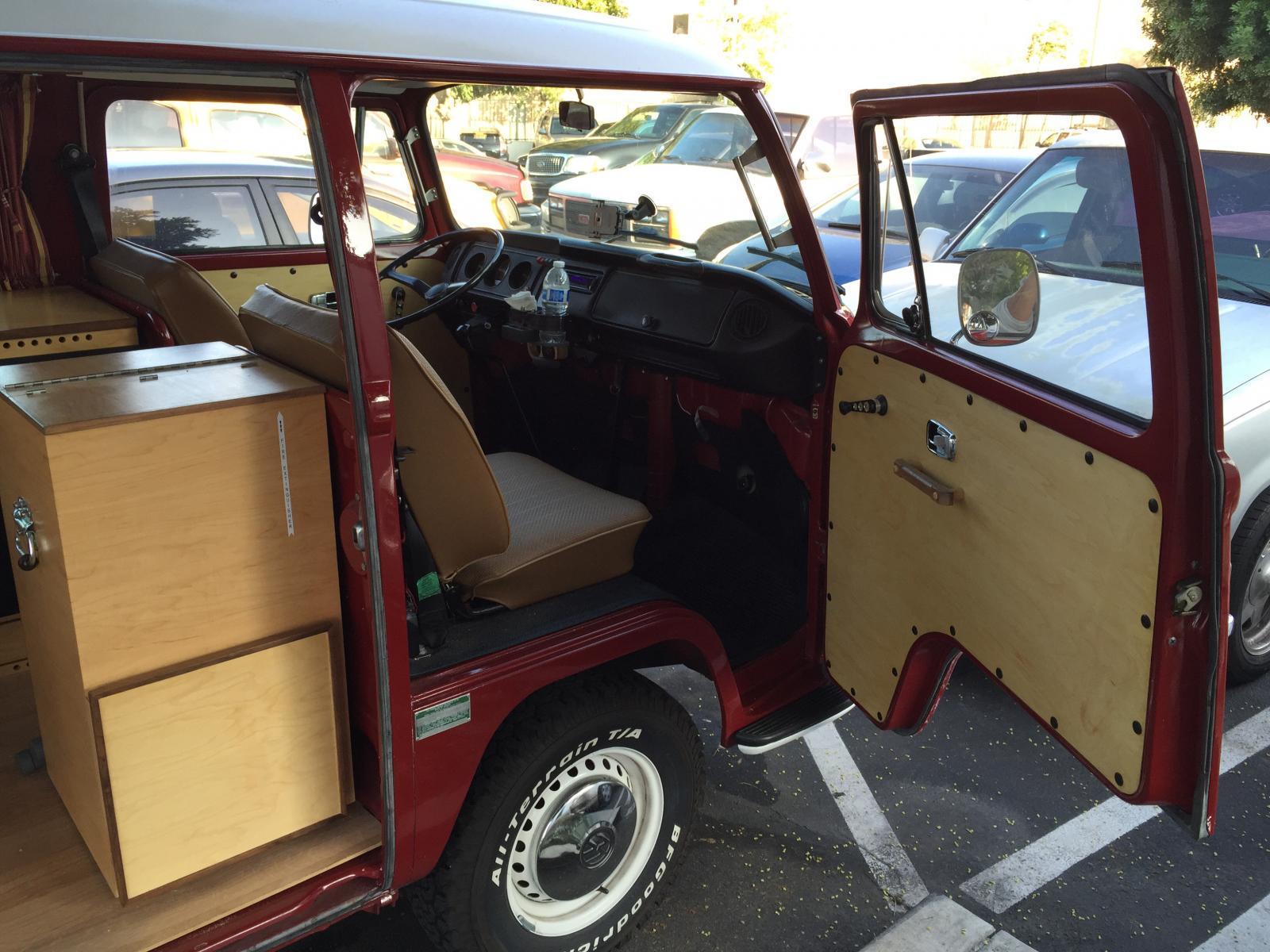 1968 Dash for camper