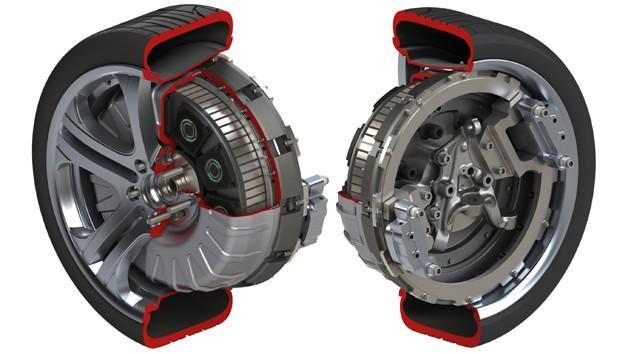 wheel hub motor protean