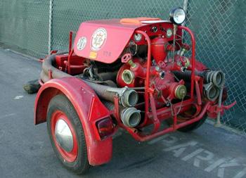 VW Powered Fire pump trailer