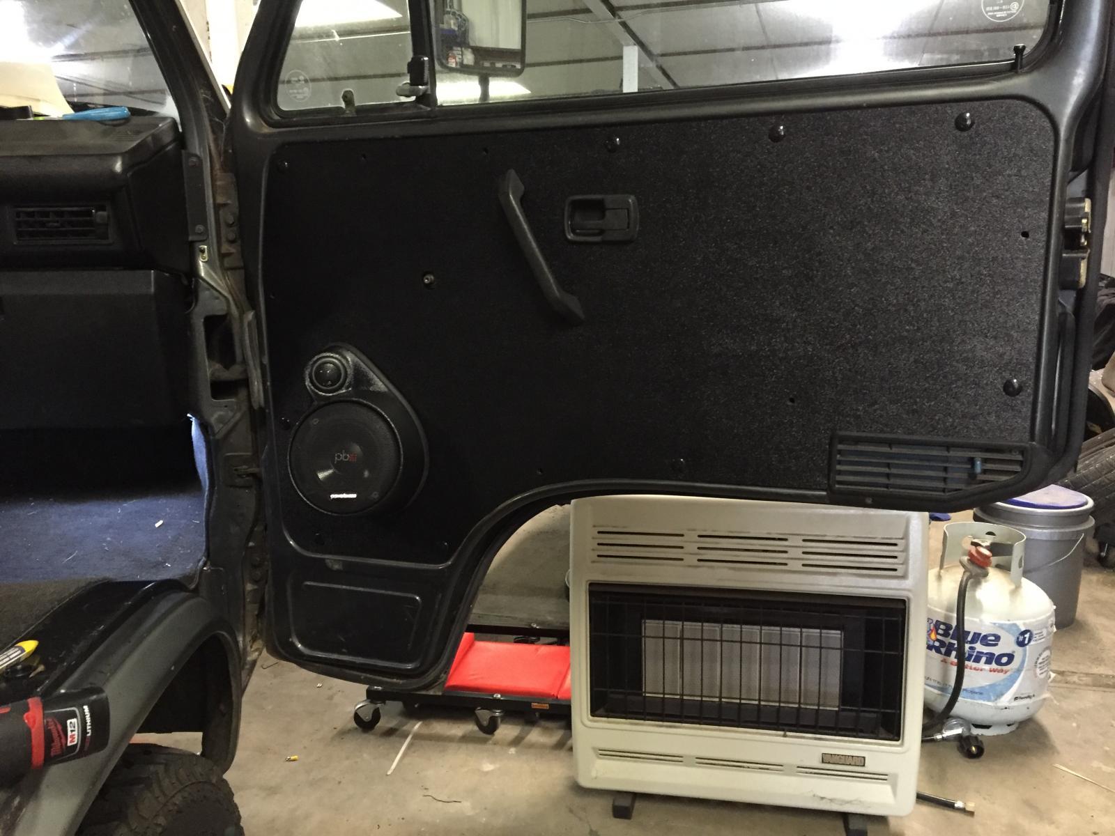 eBay universal speaker pod/werksberg panel