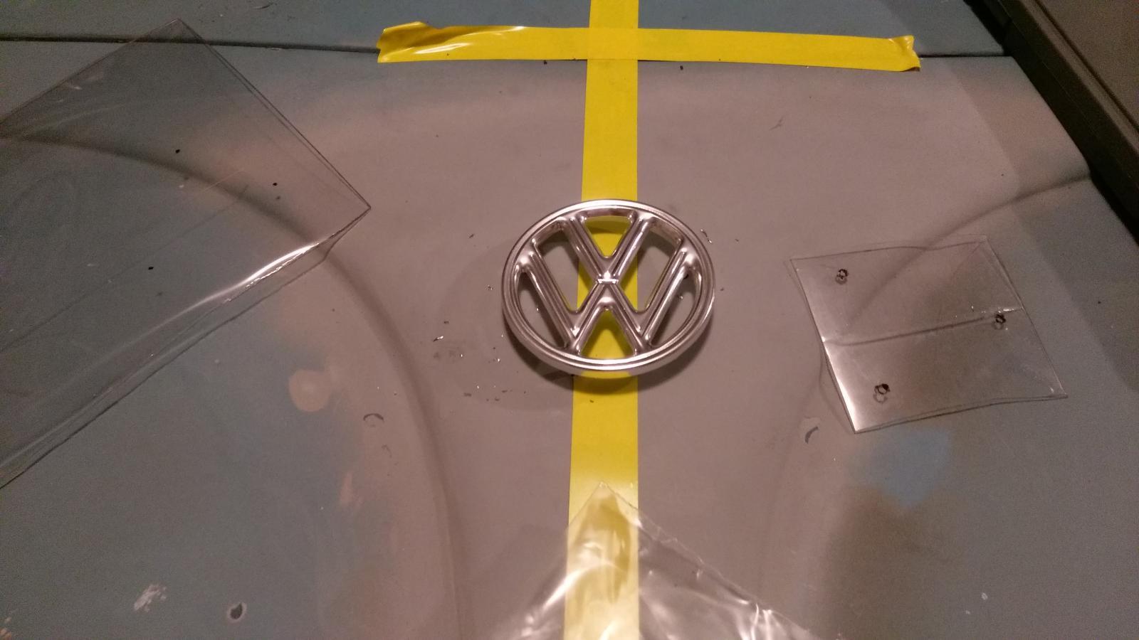 Emblem placement
