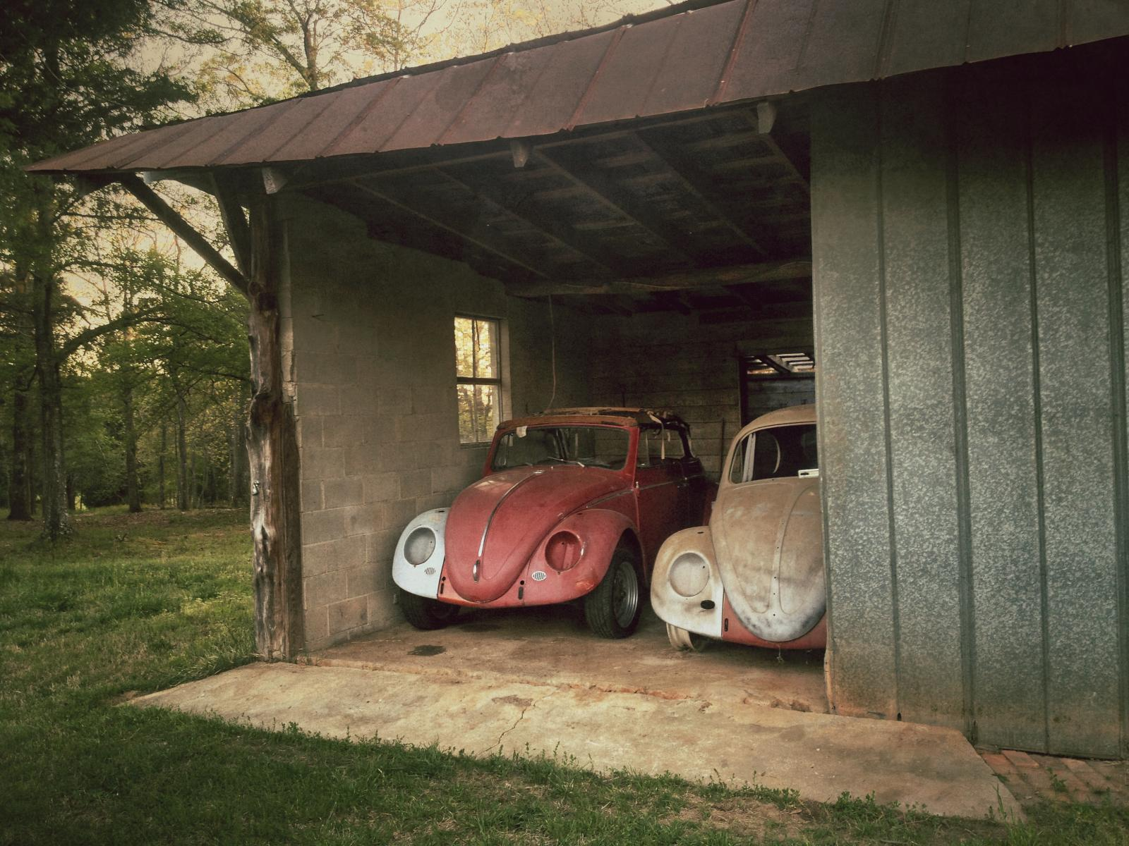 '63 Vert and '66 Sedan